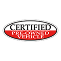 Window Sticker, Red Oval, Certified Pre Owned Vehicle - Qty. 12