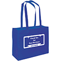 Reusable Bags - Blue - Qty. 25